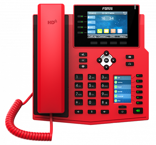 Fanvil X5U (красный)