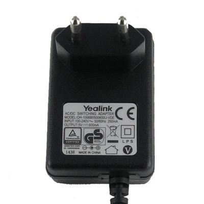 Блок питания Yealink 0.6А для T19(P), T2x, T4x, W52, W56 - фото 4657