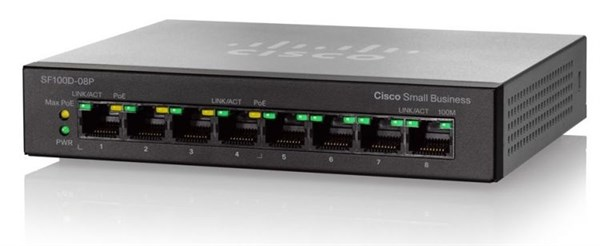 Cisco SB SF110D-08HP-EU