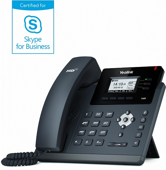 Yealink SIP-T40P Skype for Business Edition
