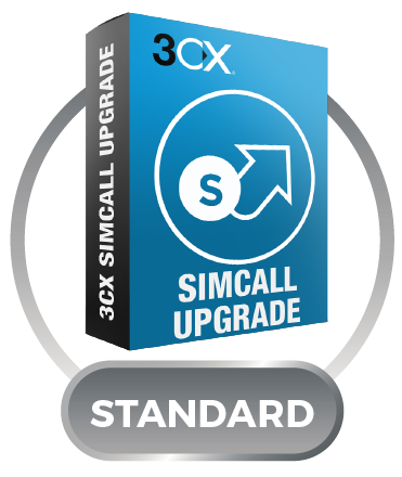 3CX Phone System Standard Upgrade с 8SC до 16SC