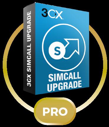 3CX Phone System Pro Upgrade с 4SC до 8SC