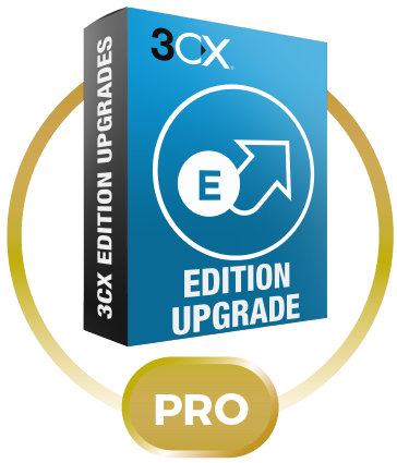 3CX Phone System Upgrade Standard 64SC до Pro 64SC
