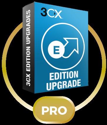 3CX Phone System Upgrade Standard 256SC до Pro 256SC