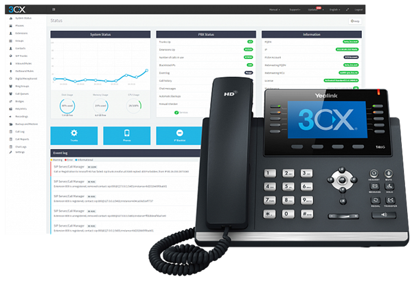 3CX Phone System Upgrade Standard 32SC до Enterprise 32SC