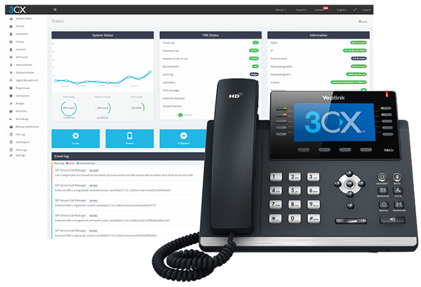 3CX Phone System Upgrade Standard 1024SC до Enterprise 1024SC