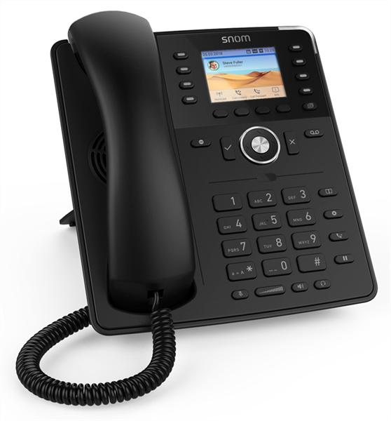 Snom D735 чёрный - IP-телефон | инструкция | настройка | купить в магазине Sip-Store.ru - доставка по России