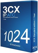 3CX Phone System Standard 1024SC, 1 год