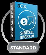 3CX Phone System Standard Upgrade с 64SC до 128SC